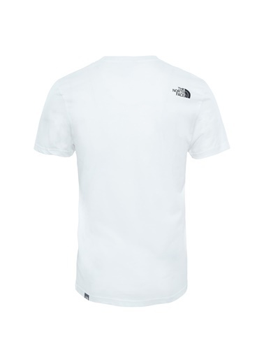 The North Face Sımple Dome Erkek T-Shirt Beyaz Beyaz